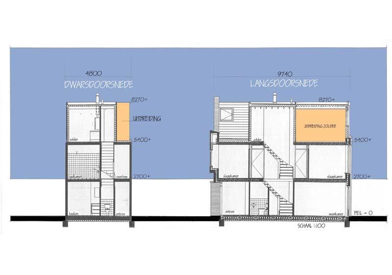 4-vergroting-dakopbouw-doorsnede